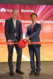 Swiss operator Sunrise and Huawei open first European 5G Joint Innovation Centre focused on IoT, ADUK GmbH