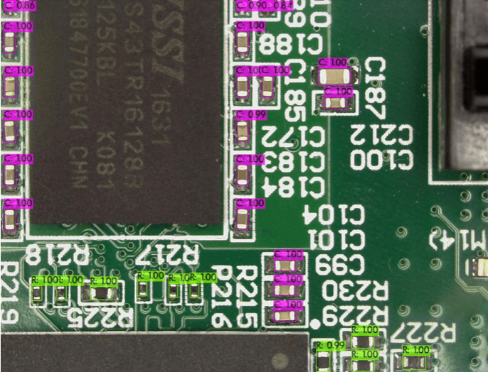 PCB Components Recognition, ADUK GmbH