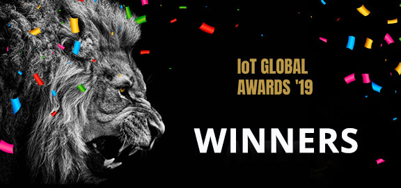 The winners of the 2019 IoT Global Awards are …