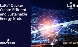 Semtech's LoRa devices create an efficient monitoring solution for reducing energy consumption
